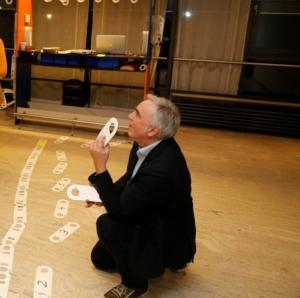 Peter Köstel und sein Thema Moderation mittels 3D-Pinnwand