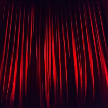 Auftritt Bühne Präsentation