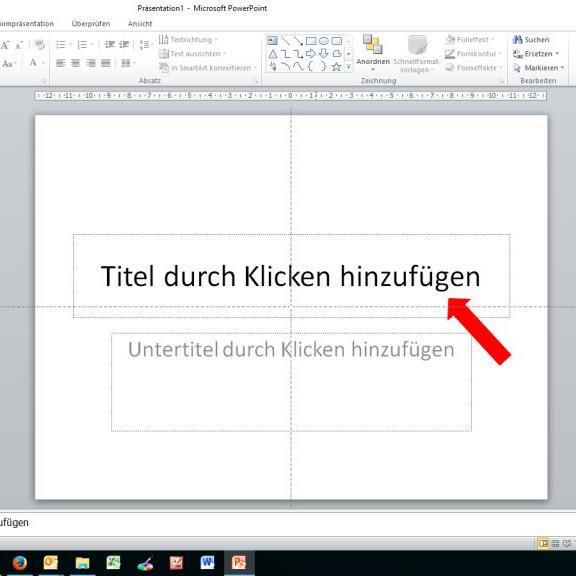 Die Wichtigkeit von Überschriften in Präsentationen