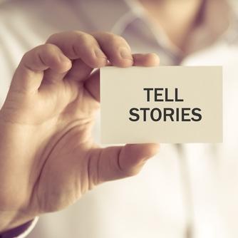 Titelbild Storytelling - Geschichten erzählen - Gastbeitrag von Gaby S. Graupner