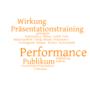 Performance vor Publikum