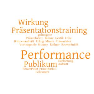 Performance vor Publikum