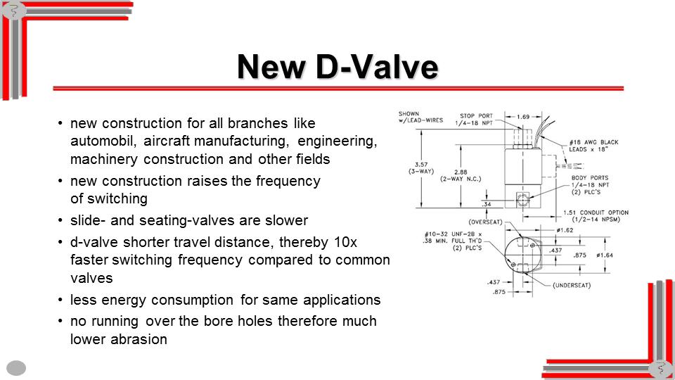 D+D Valve Beispielfolie Animationen vorher