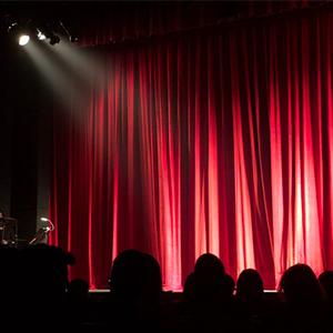 Bühne Rampenlicht Lampenfieber